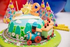 Gâteau féerique Photo libre de droits