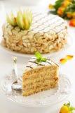 Gâteau fait maison d'Esterhazy Photographie stock