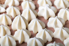 Gâteau fait maison de Kiev avec le décor de beurre images stock