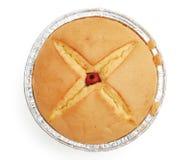 Gâteau fait maison de tasse de vue supérieure photographie stock libre de droits