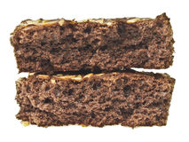 Gâteau fendu de pile Image stock