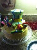 Gâteau fou de haineux Photographie stock