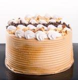 Gâteau gâteaux de chocolat sur le fond Photos stock