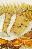 Gâteau italien de Noël Image stock