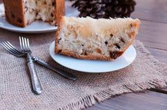 Gâteau italien de Noël Image libre de droits