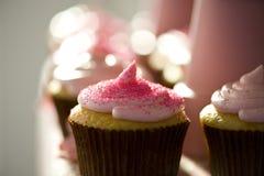 Gâteau jaune   Images stock