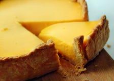Gâteau jaune Photos libres de droits
