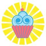 Gâteau mignon Illustration Stock
