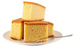 Gâteau mousseline Photos libres de droits