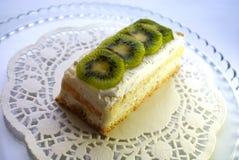 Gâteau de kiwi Photo libre de droits