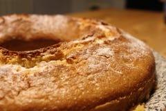 Gâteau mousseline délicieux Photographie stock