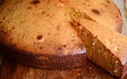 Gâteau mousseline de base de gâteau de Mava Image stock