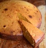 gâteau mousseline de base de gâteau de mawa eggless Photo libre de droits