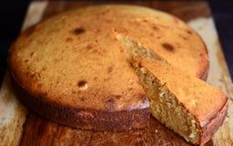 gâteau mousseline de base de gâteau de mawa eggless Photographie stock libre de droits