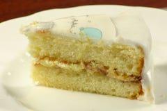 Gâteau mousseline de bourrage Photo libre de droits
