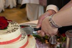 Gâteau nuptiale Image stock