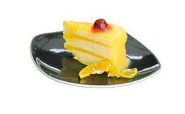 Gâteau orange Image stock