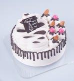 gâteau ou gâteau de jour de pères avec le concept sur le fond Photo libre de droits
