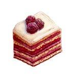 Gâteau posé de baie Photo libre de droits