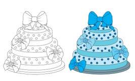 Gâteau pour des bébés Photographie stock libre de droits