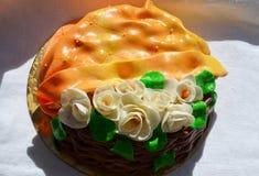 Gâteau pour la maman Photographie stock