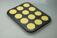 Gâteau rempli de pâte lisse Photos libres de droits