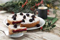 Gâteau rempli par bagatelle Photo libre de droits