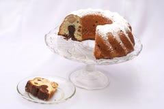 Gâteau rond Photographie stock libre de droits