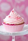 Gâteau rose Image libre de droits