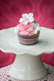 Gâteau rose Images stock