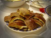 Gâteau roumain de broche photo stock