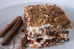 Gâteau savoureux Image stock