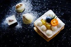 Gâteau savoureux Images stock