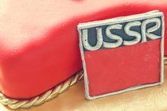 Gâteau soviétique Images libres de droits