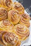 Gâteau spiralé Photographie stock libre de droits