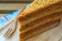 Gâteau thaï de thé Image stock