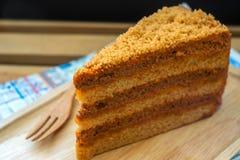 Gâteau thaï de thé Images libres de droits