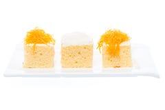 Gâteau thaïlandais de dessert Images stock