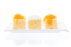 Gâteau thaïlandais de dessert Image libre de droits