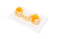 Gâteau thaïlandais de dessert Photographie stock