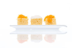 Gâteau thaïlandais de dessert Image stock