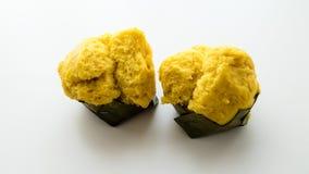 Gâteau thaïlandais de paume de grog de dessert Photographie stock libre de droits