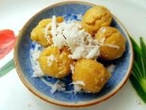Gâteau thaïlandais de paume de grog de dessert Photo libre de droits
