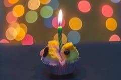 Gâteau thaïlandais de tasse Image stock
