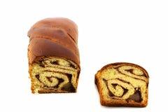 Gâteau traditionnel roumain image libre de droits