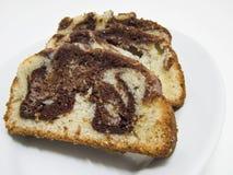 Gâteau varié de plomb Images libres de droits