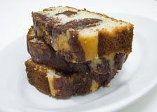 Gâteau varié de plomb Photographie stock