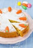 Gâteaux à la carotte Photographie stock