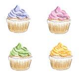 Gâteaux illustration stock