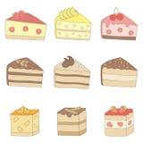 Gâteaux. Photographie stock